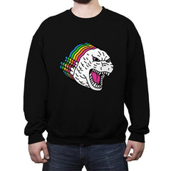 Colors of Godzilla - Crew Neck Sweatshirt - Crew Neck Sweatshirt - RIPT Apparel