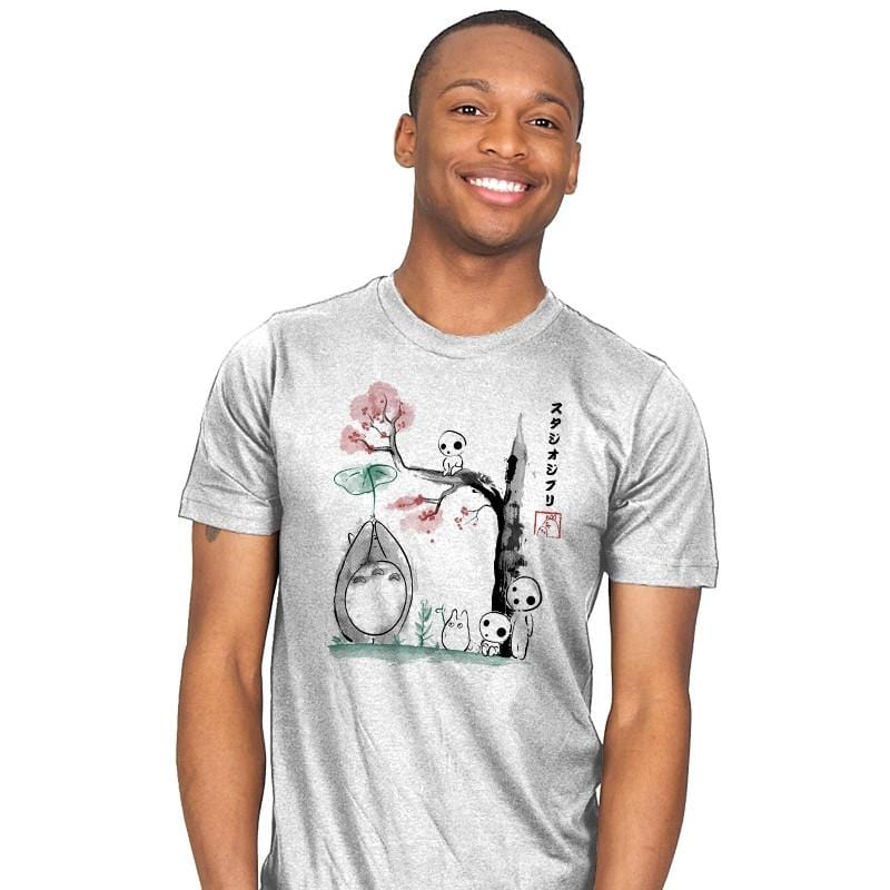 Growing Trees Sumi-e - Mens - T-Shirts - RIPT Apparel