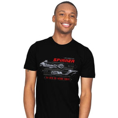 Fly Into The Future - Mens - T-Shirts - RIPT Apparel