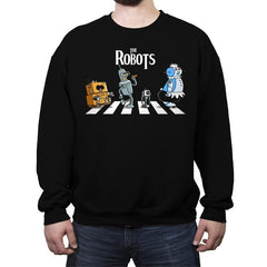 The Robots - Crew Neck Sweatshirt - Crew Neck Sweatshirt - RIPT Apparel