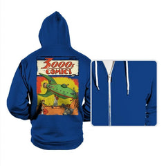 3000s Comics - Hoodies - Hoodies - RIPT Apparel