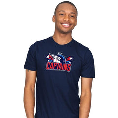 USA Captains - Star-Spangled - Mens - T-Shirts - RIPT Apparel