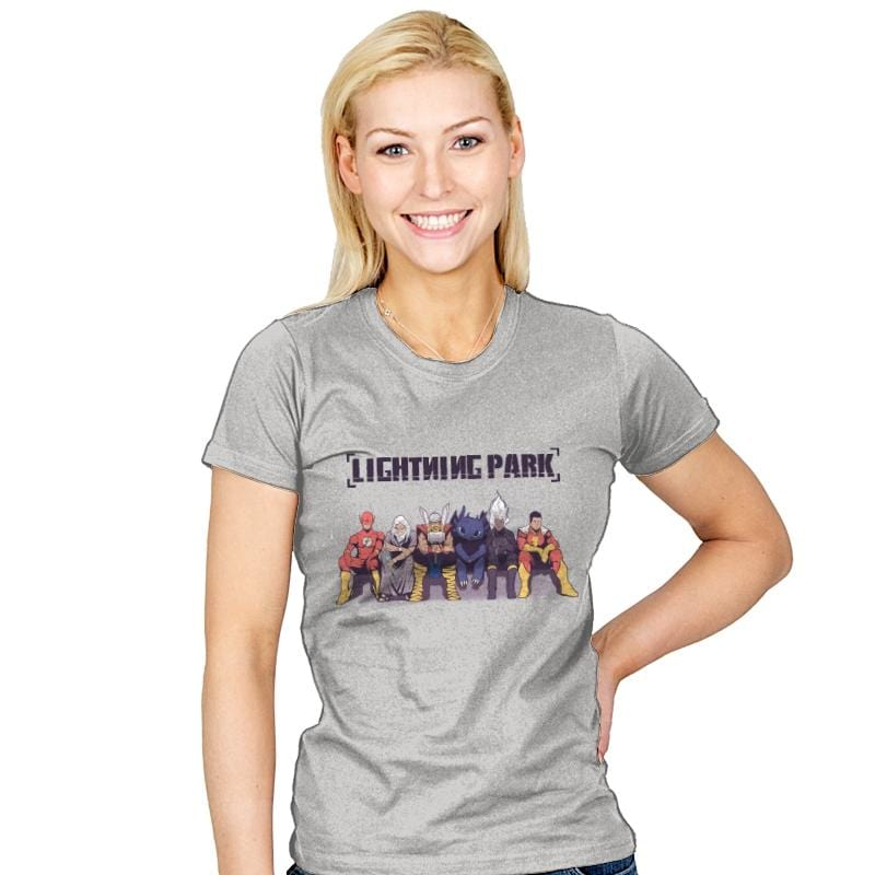 LIGHTNING PARK - Womens - T-Shirts - RIPT Apparel