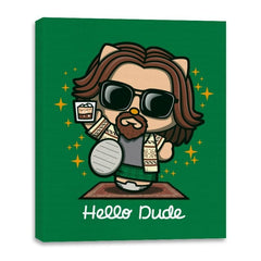 Hello Dude - Canvas Wraps - Canvas Wraps - RIPT Apparel
