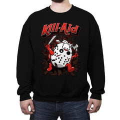 Kill-Aid Rotten Strawberry Flavor - Crew Neck Sweatshirt - Crew Neck Sweatshirt - RIPT Apparel