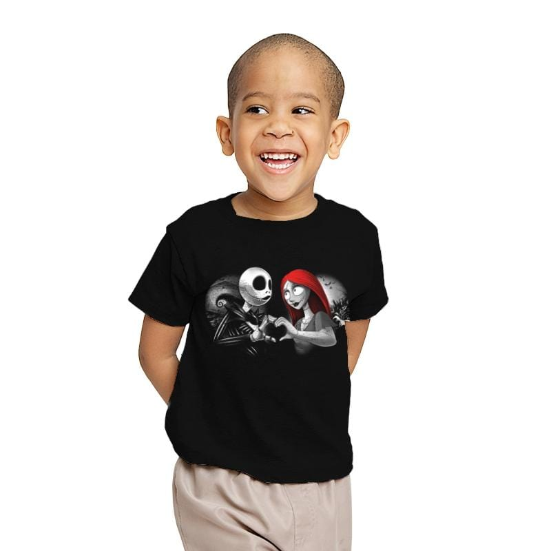 Her Skeleton, His Doll - Youth - T-Shirts - RIPT Apparel
