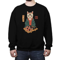 Neko Sushi Bar - Crew Neck Sweatshirt - Crew Neck Sweatshirt - RIPT Apparel