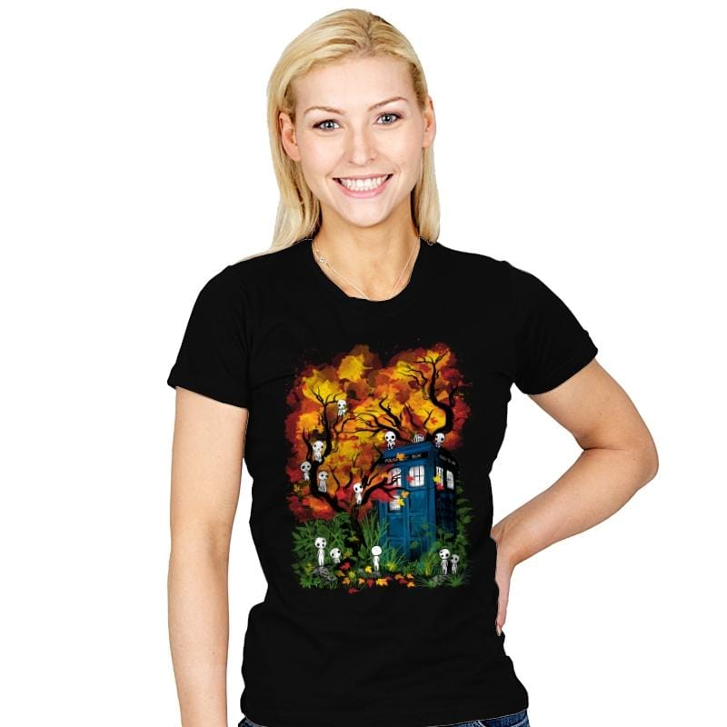 The Doctor in the Forest - Womens - T-Shirts - RIPT Apparel