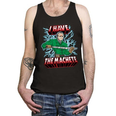 I Have The Machete! - Tanktop - Tanktop - RIPT Apparel