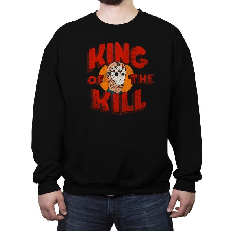 King of the Kill - Crew Neck Sweatshirt - Crew Neck Sweatshirt - RIPT Apparel