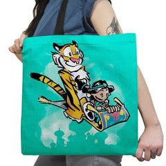 Jasmine and Rajah Exclusive - Tote Bag - Tote Bag - RIPT Apparel