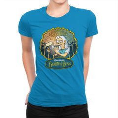 Beauty and the Bean - Womens Premium - T-Shirts - RIPT Apparel