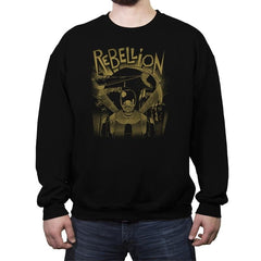 Rebellion - Crew Neck Sweatshirt - Crew Neck Sweatshirt - RIPT Apparel