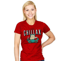 Chillax like a... - Womens - T-Shirts - RIPT Apparel