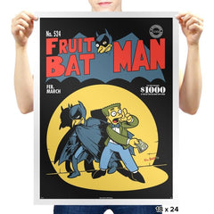 Fruitbat Man Exclusive - Prints - Posters - RIPT Apparel