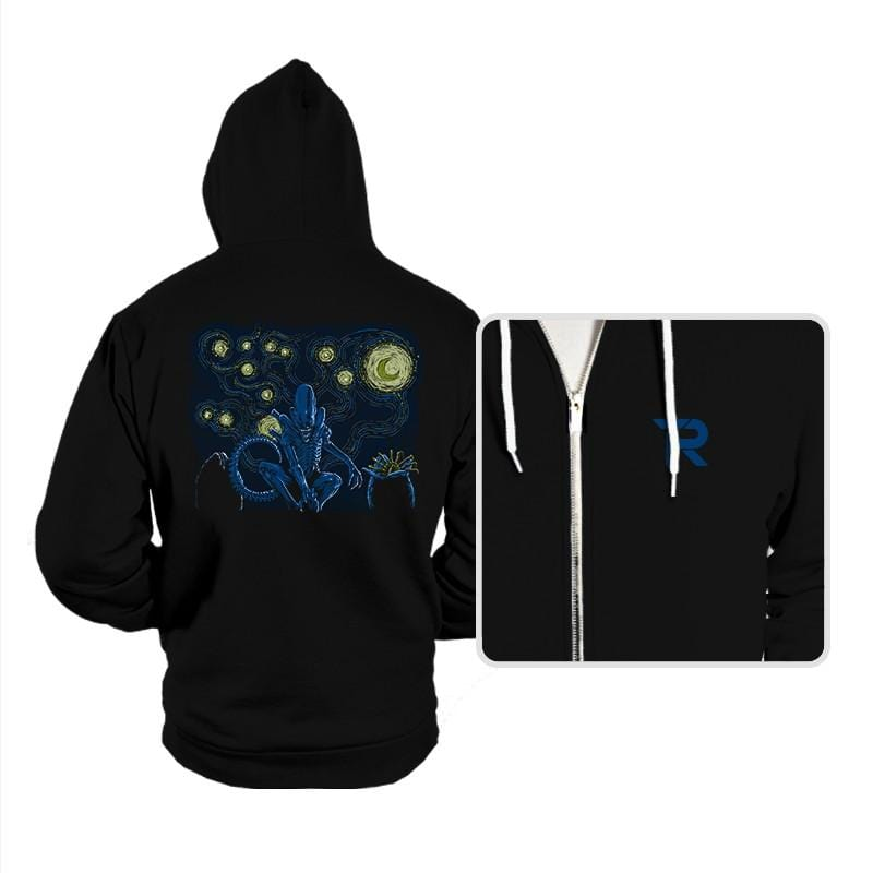 Starry Xenomorph - Hoodies - Hoodies - RIPT Apparel