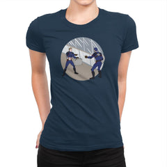 Two Captains - Womens Premium - T-Shirts - RIPT Apparel