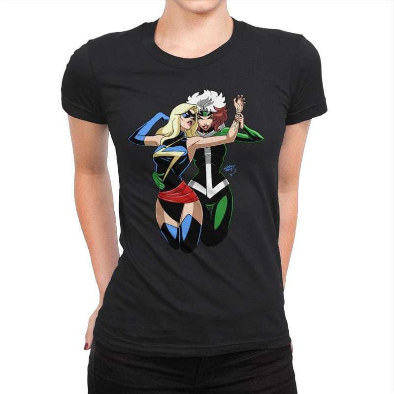 Tango With Rogue - Anytime - Womens Premium - T-Shirts - RIPT Apparel