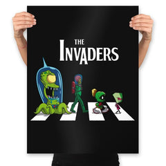 The Invaders - Prints - Posters - RIPT Apparel