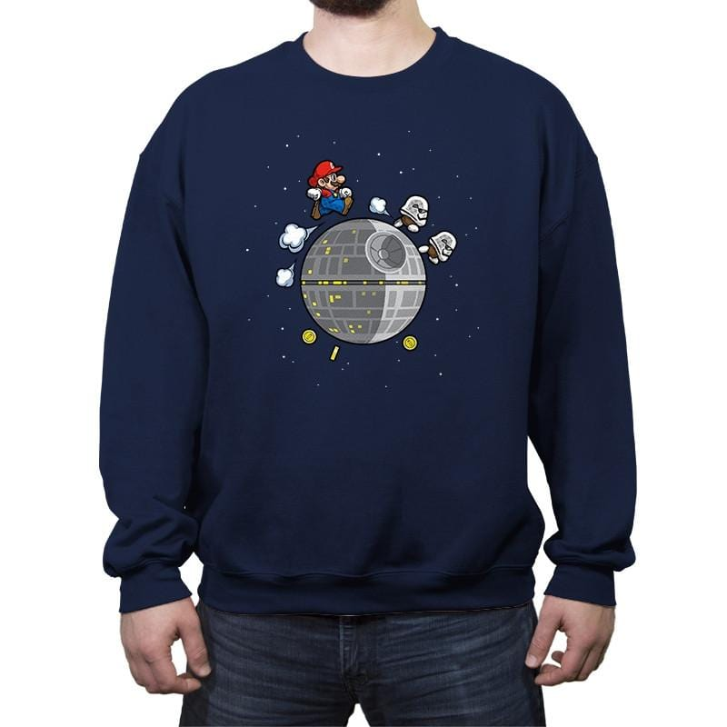 A Galaxy Far Far Away - Crew Neck Sweatshirt - Crew Neck Sweatshirt - RIPT Apparel