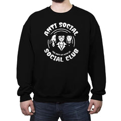 Anti Social Club - Crew Neck Sweatshirt - Crew Neck Sweatshirt - RIPT Apparel