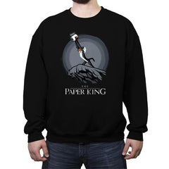 The Paper King - Crew Neck Sweatshirt - Crew Neck Sweatshirt - RIPT Apparel