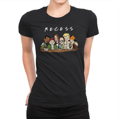 Recess Forever - Womens Premium - T-Shirts - RIPT Apparel