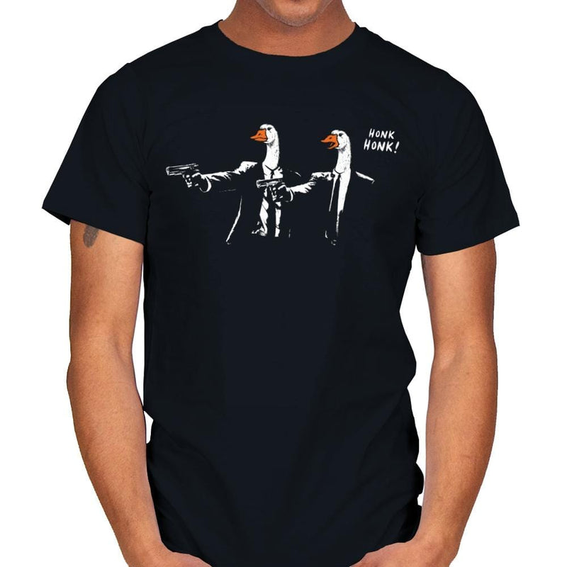 Goose Fiction - Mens - T-Shirts - RIPT Apparel