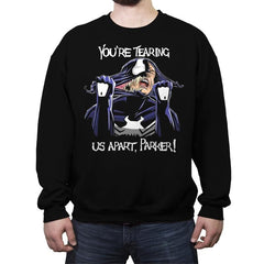 Tearing Us Apart - Crew Neck Sweatshirt - Crew Neck Sweatshirt - RIPT Apparel