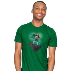 The Grass King - Pop Impressionism - Mens - T-Shirts - RIPT Apparel
