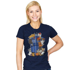 Kitten Who - Womens - T-Shirts - RIPT Apparel