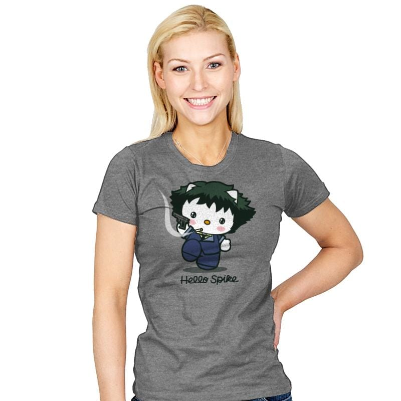 Hello Spike - Womens - T-Shirts - RIPT Apparel