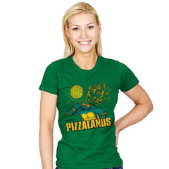 Pizzalands - Womens - T-Shirts - RIPT Apparel