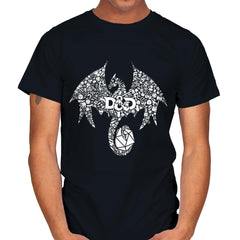 Mosaic Dragon - Mens - T-Shirts - RIPT Apparel