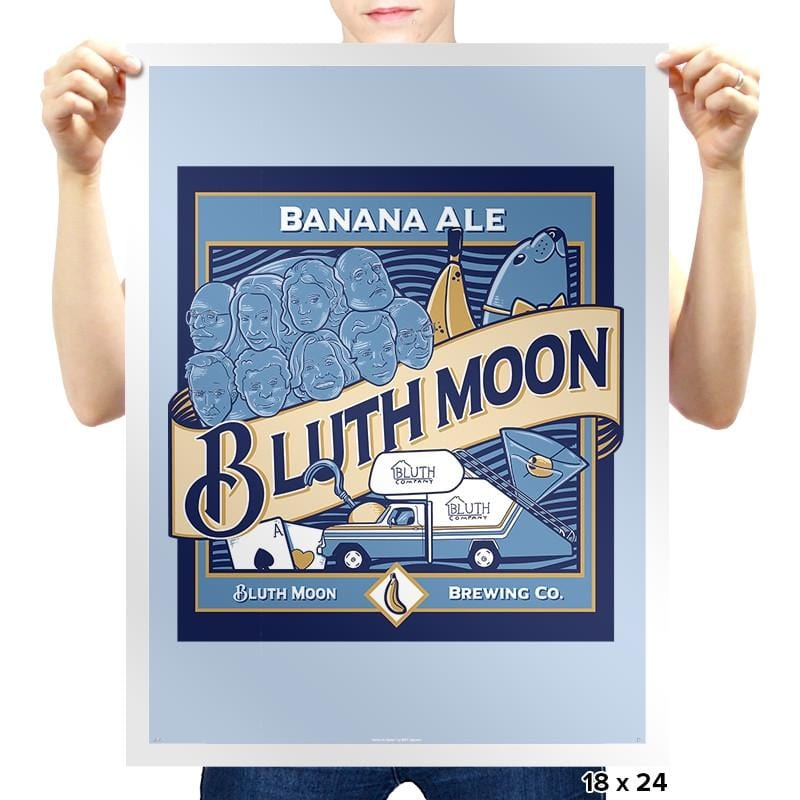 Bluth Moon - Prints - Posters - RIPT Apparel