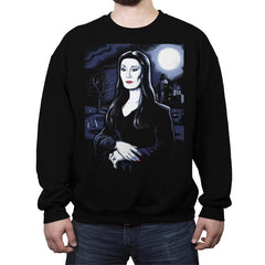 Mona Tishia - Crew Neck Sweatshirt - Crew Neck Sweatshirt - RIPT Apparel