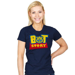 Bot Story - Womens - T-Shirts - RIPT Apparel