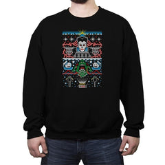 Bustin' Christmas - Crew Neck Sweatshirt - Crew Neck Sweatshirt - RIPT Apparel