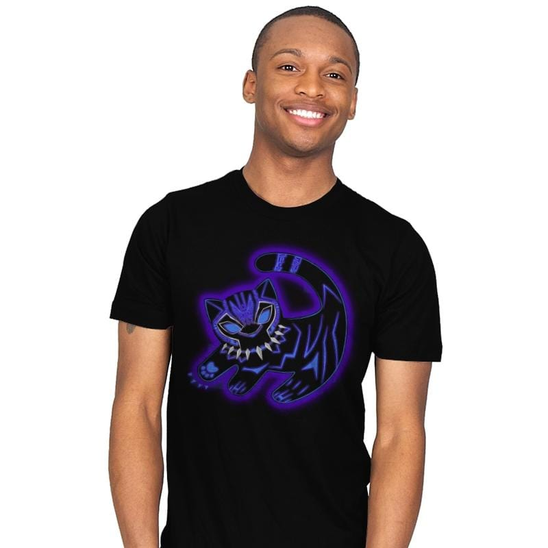 The Glowing Panther King - Best Seller - Mens - T-Shirts - RIPT Apparel