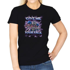 Give Me Your Face Exclusive - Womens - T-Shirts - RIPT Apparel