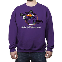 Vault Duck - Crew Neck Sweatshirt - Crew Neck Sweatshirt - RIPT Apparel