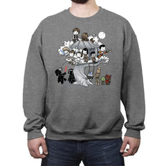 Light Side Club - Crew Neck Sweatshirt - Crew Neck Sweatshirt - RIPT Apparel