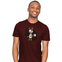 Caffeine Bear - Mens - T-Shirts - RIPT Apparel