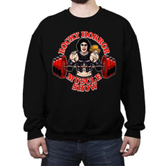 Rocky Horror Muscle Show - Crew Neck Sweatshirt - Crew Neck Sweatshirt - RIPT Apparel
