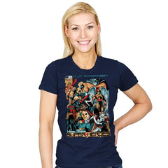 H.B. SUPER HEROES - Womens - T-Shirts - RIPT Apparel