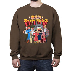 Magical Super Friends - Crew Neck Sweatshirt - Crew Neck Sweatshirt - RIPT Apparel