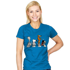 Pets on Abbey Road - Womens - T-Shirts - RIPT Apparel