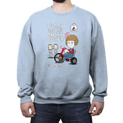 Shiny Danny - Crew Neck Sweatshirt - Crew Neck Sweatshirt - RIPT Apparel