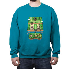 Super Console World - Crew Neck Sweatshirt - Crew Neck Sweatshirt - RIPT Apparel