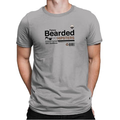 Fancy Bearded Hipster - Mens Premium - T-Shirts - RIPT Apparel